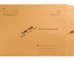 X-Ray Mailing Envelopes